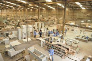 Xưởng Sản xuất gỗ ống luồn dây điện