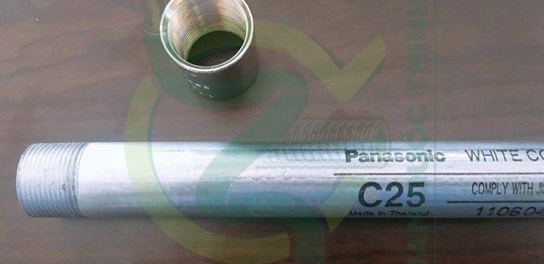 Dự án Metro Suối Tiên sử dụng ống thép luồn dây điện ren type C25 BS Panasonic