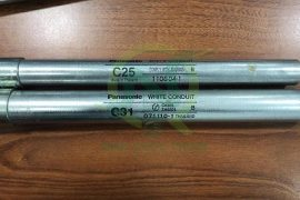 Ống thép luồn dây điện ren Panasonic loại C 31 mm