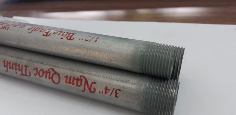 Ống thép luồn dây điện ren IMC Nam Quốc Thịnh