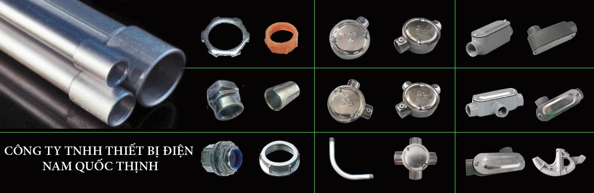 Ống thép ren IMC và phụ kiện
